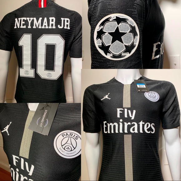 the latest 251b4 56b9d 2018/2019 PSG Jordan jersey Home Neymar #10 NWT
